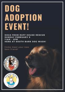 Ruff House Rescue Dog Adoption Event @ South Bark Dog Wash