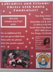 Photos with Santa @ South Bark Dog Wash